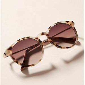 Anthropologie: Lexi Rounded Sunglasses